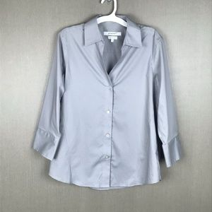 Foxcroft Button Down Shirt Size Small